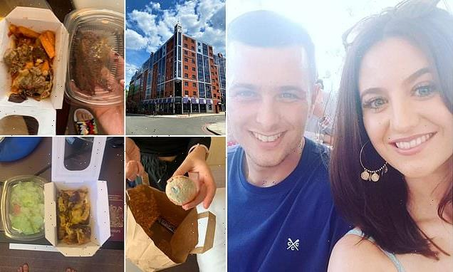 Couple claim they were served mouldy food during quarantine hotel stay
