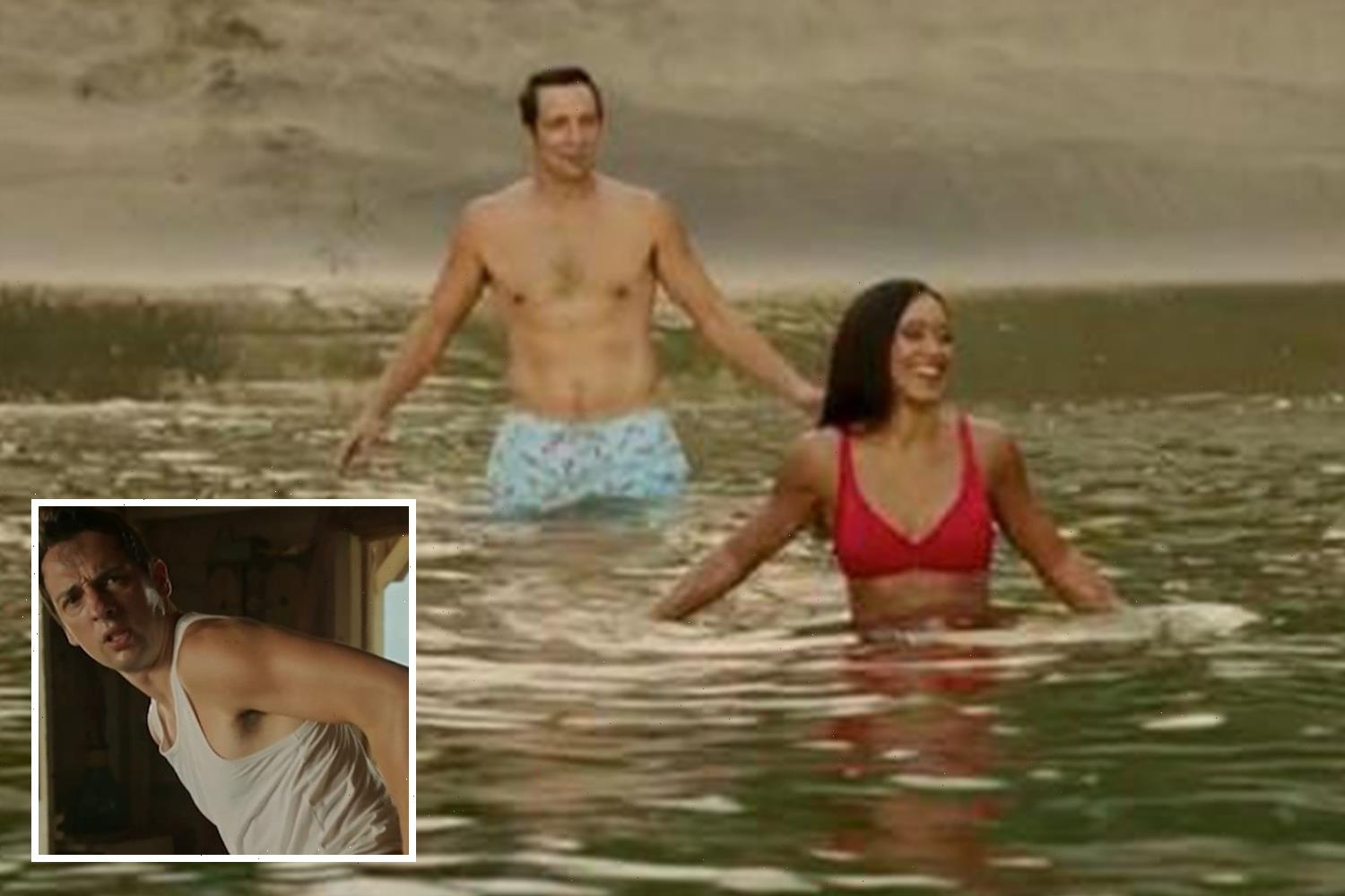 Death in Paradise boss admits there's 'lots of nudity and stripping' on BBC set as stars let loose on the beach