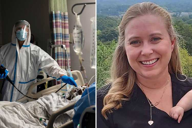 Doctor reveals young and unvaccinated Covid patients are begging her for jab on death bed – but she says 'it's too late'