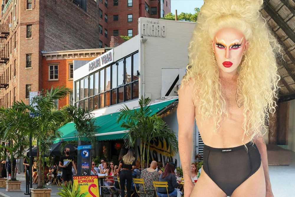 Drag performer CT Hedden blasts West Village hot spot Baby Brasa as transphobic
