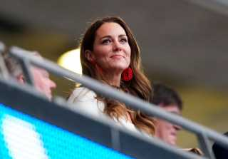 Duchess of Cambridge Dashes from Wimbledon to Wembley in Day of Sports