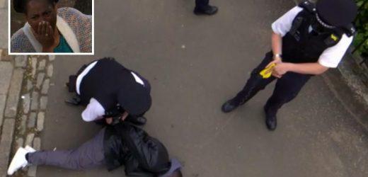 EastEnders horror as Isaac Baptiste is brutally tasered by police during breakdown