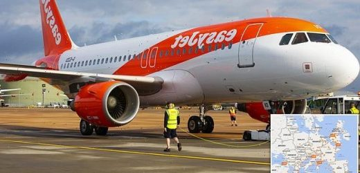 EasyJet increases flights to 60 per cent of pre-Covid levels