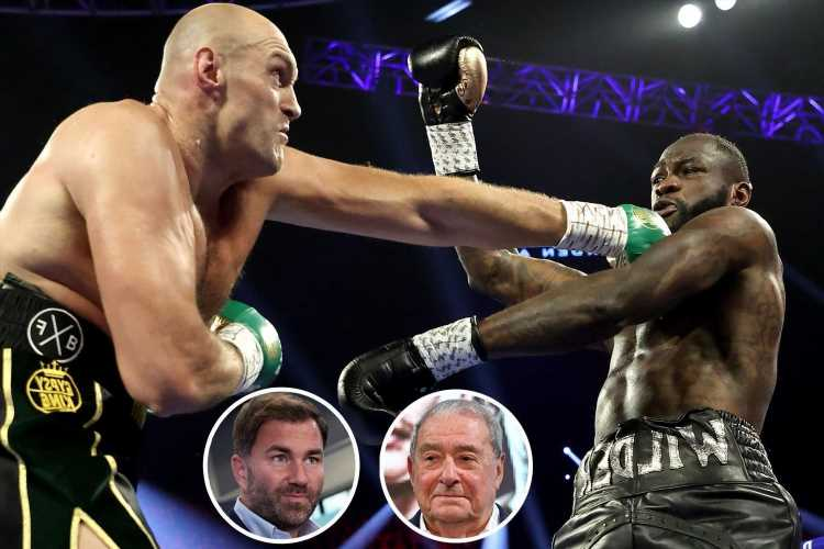 Eddie Hearn accuses Tyson Fury's team of 'lying' about Deontay Wilder fight and reveals heated call with Bob Arum