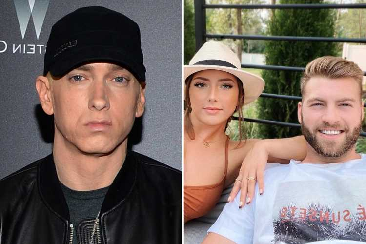 Eminem's rarely seen daughter Hailie Jade poses for a selfie with dad-approved boyfriend