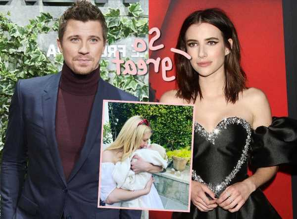 Emma Roberts & Garrett Hedlund Are 'In A Much Better Place' Together Since Welcoming Their Newborn Son!
