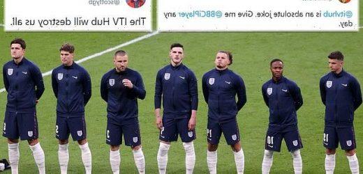 Fans SLAM ITV Hub for their coverage of England vs Denmark