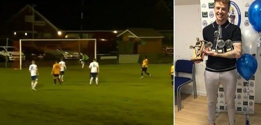 Footballer who claimed £55k for injuries rumbled after scoring goal