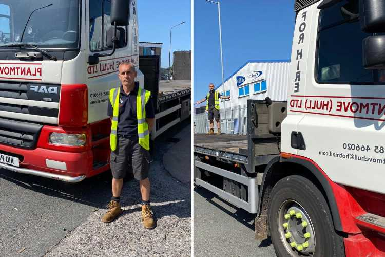Fuming lorry driver fined £60 for entering bus lane to drive around broken down vehicle
