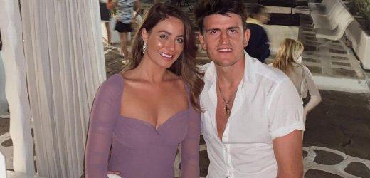 Harry Maguire's fiancee Fern Hawkins hasn't seen him in five weeks due to Euros