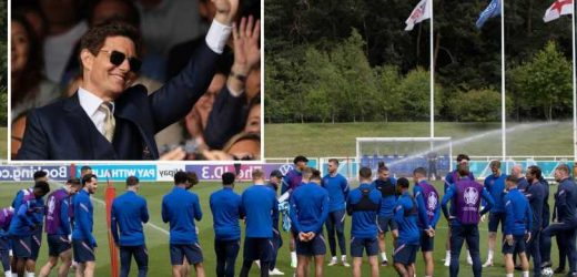Hollywood star Tom Cruise uses FaceTime to wish Southgate's England good luck in their quest to be Top Guns at Euro 2020