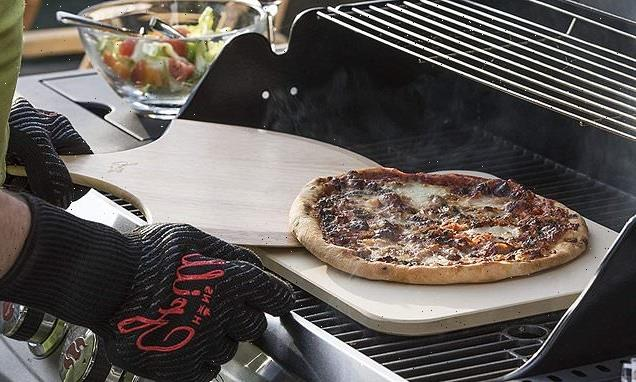 How to turn your BBQ grill into an outdoor pizza oven for under £40