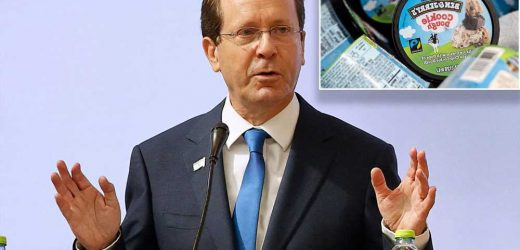 Israeli president calls Ben & Jerry's boycott 'a new form of terrorism'