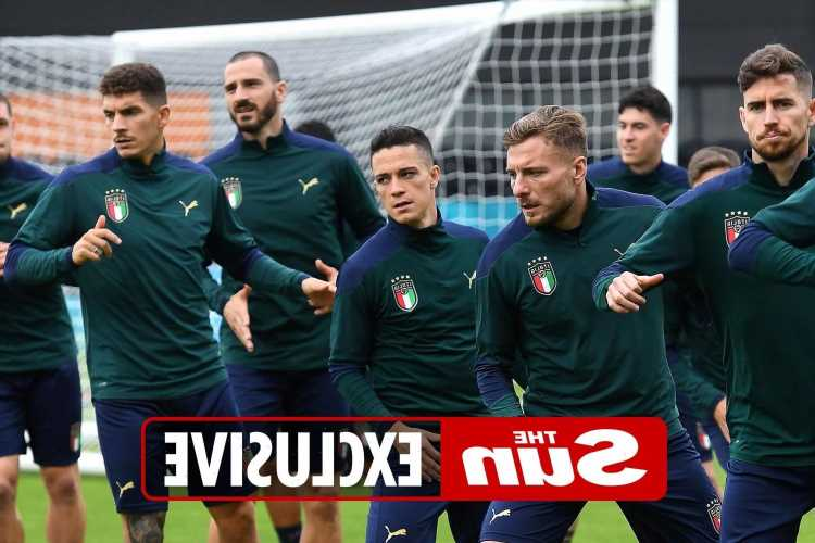 Italy in coronavirus scare as three media staff test positive at team's HQ just days before Euro 2020 final with England