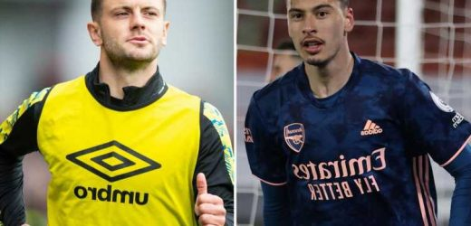 Jack Wilshere hits out at Arsenal boss Mikel Arteta for underusing Gabriel Martinelli and tips Brazilian for big season