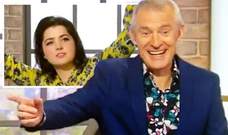 Jeremy Vine panel in stiches as caller sings new song in bid to replace coming home anthem