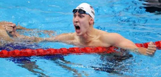 Kalisz wins 400 IM for first U.S. medal in Tokyo