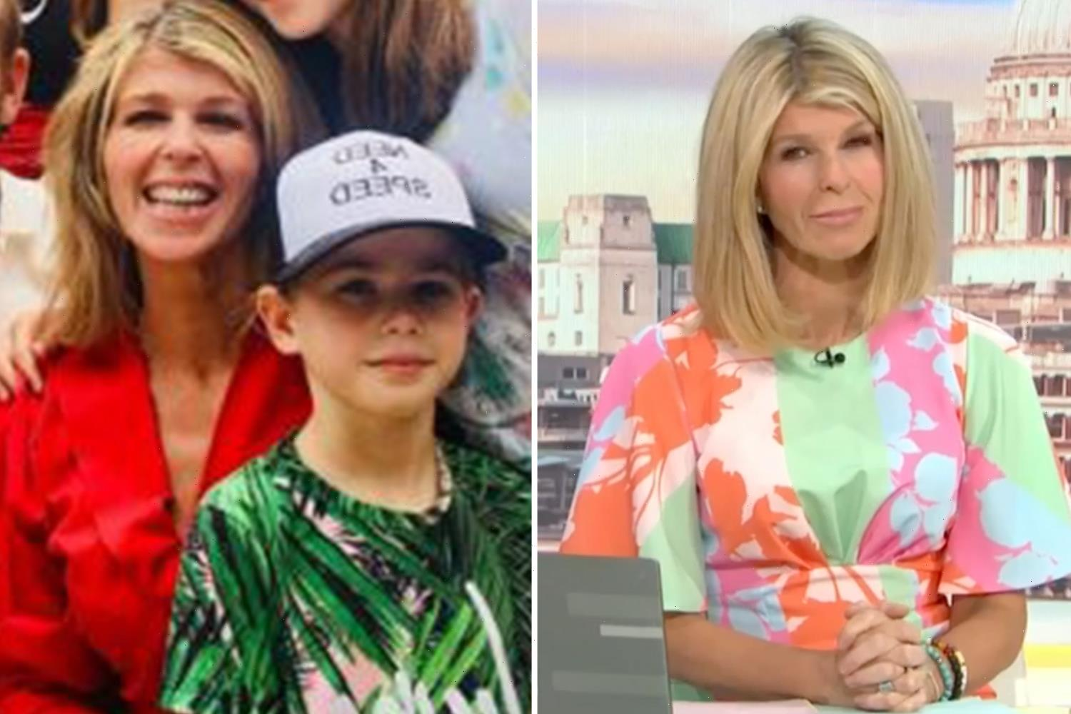 Kate Garraway's son Billy pulled out of school to self-isolate after school classmate tested positive for coronavirus