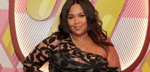 Lizzo Wore the Booty-Lifting Amazon Leggings Again In a Bold Color
