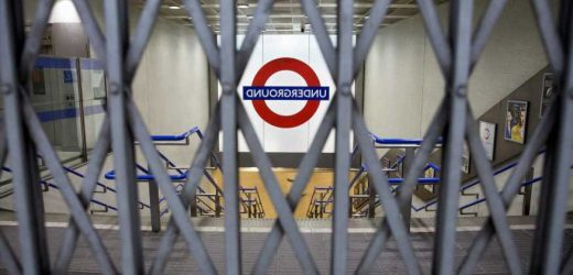 London Tube strike: Underground workers to walk off the job for four DAYS in night service pay row