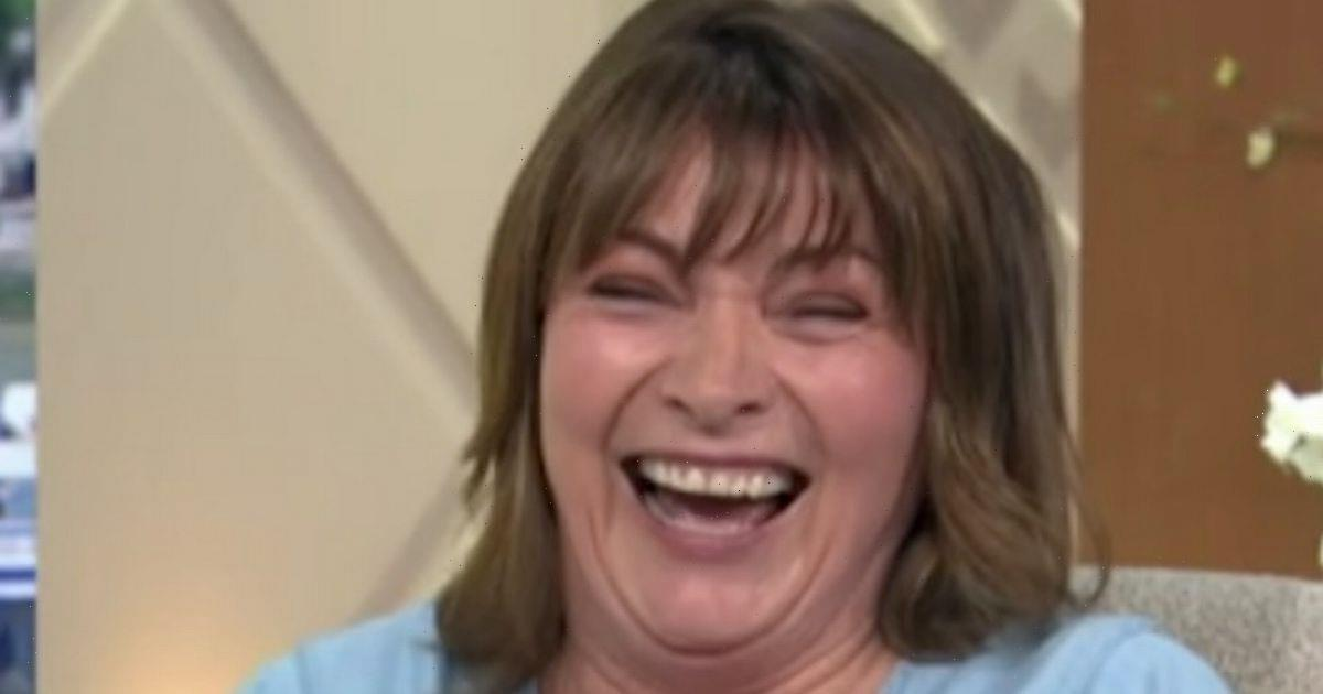 Lorraine Kelly red-faced as she accidentally makes raunchy sex joke live on air