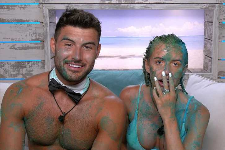 Love Island spoilers: Faye and Liam share their first kiss but it's ruined by 'slime' during challenge