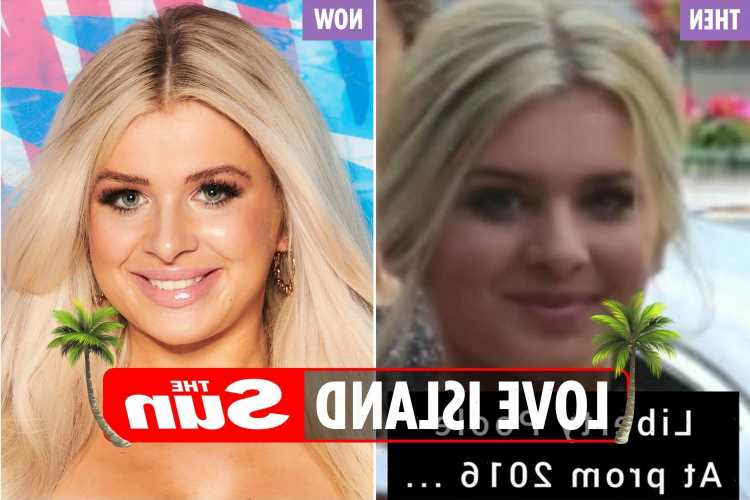 Love Island's Liberty Poole looks very different in throwback from her school prom