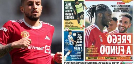 Man Utd consider Nuno Mendes transfer swoop after Alex Telles ruled out for start of season with injury
