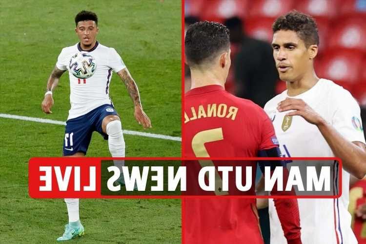 Man Utd transfer news LIVE: Varane 'gives his word' to Red Devils, Sancho impresses United fans, Shaw 'set for new deal'
