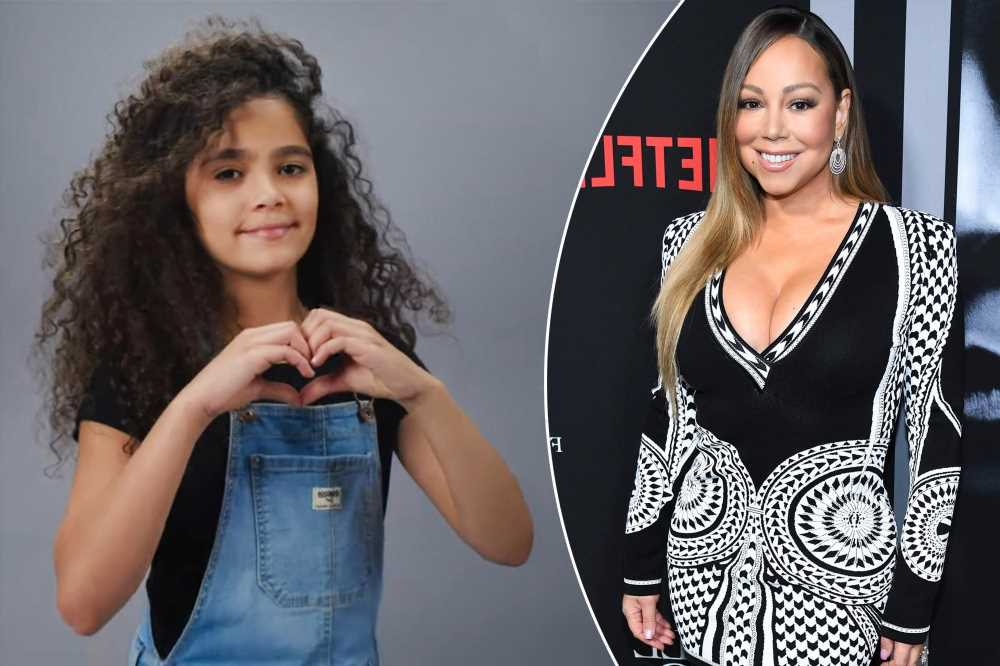 Mariah Carey's daughter Monroe, 10, makes modeling debut