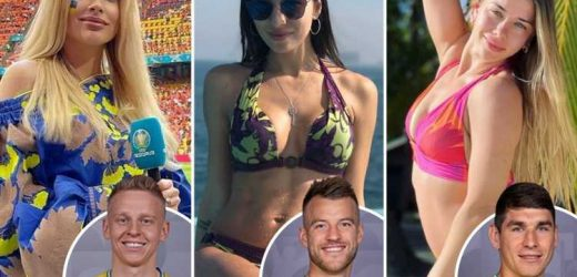 Meet Ukraine Wags desperate for their fellas to beat England at Euro 2020, from TV stars to models and a charity patron