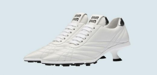 Miu Miu are selling £715 football boots with a heel and fans are not impressed