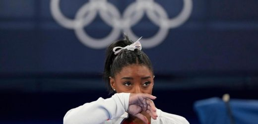 """""""OK not to be OK"""": Mental health takes top role at Olympics"""