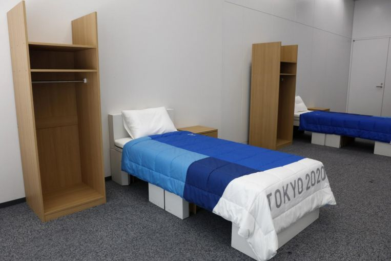 Olympics: Athletes' Village beds are sturdy, organisers insist, after 'anti-sex' report