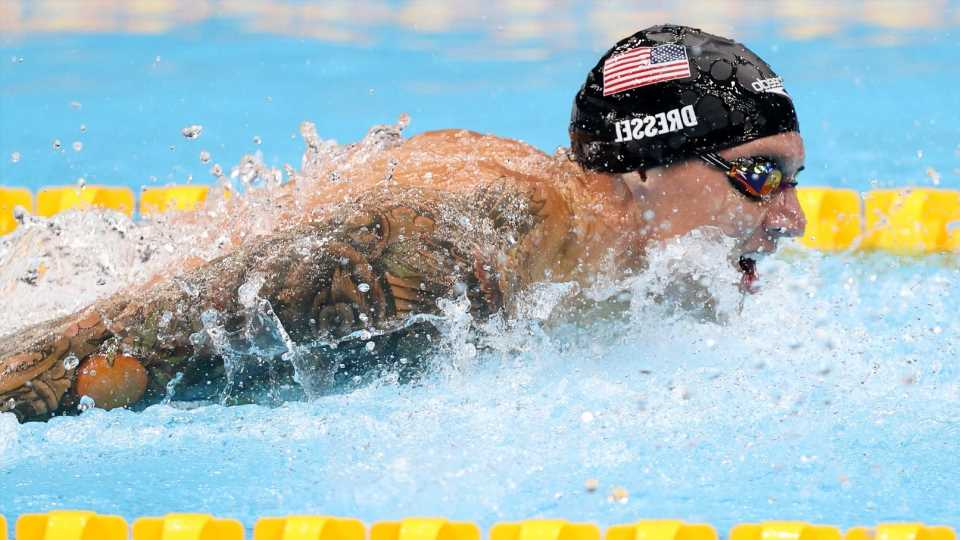 Olympics swimming live results, highlights as Katie Ledecky, Caeleb Dressel go for gold at 2021 Tokyo Games