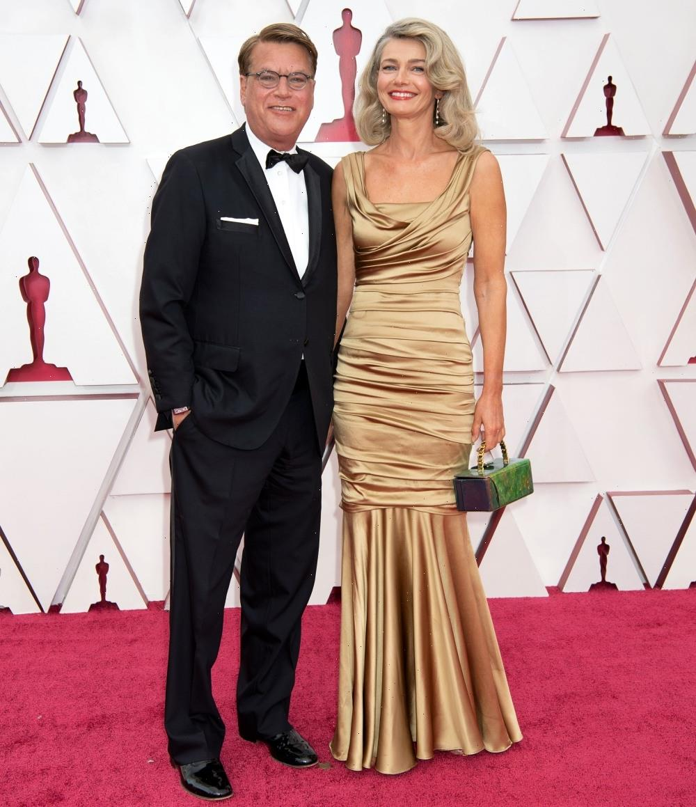Paulina Porizkova & Aaron Sorkin are over, after about four months of dating