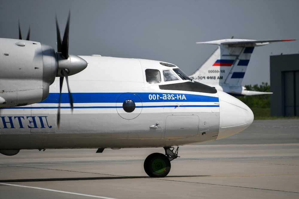 Plane with 28 on board crashes into sea in Russia's far east, report says