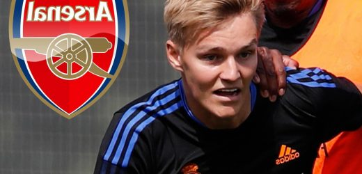 Real Madrid set £42.5m fee for Martin Odegaard as Arsenal eye permanent transfer for playmaker