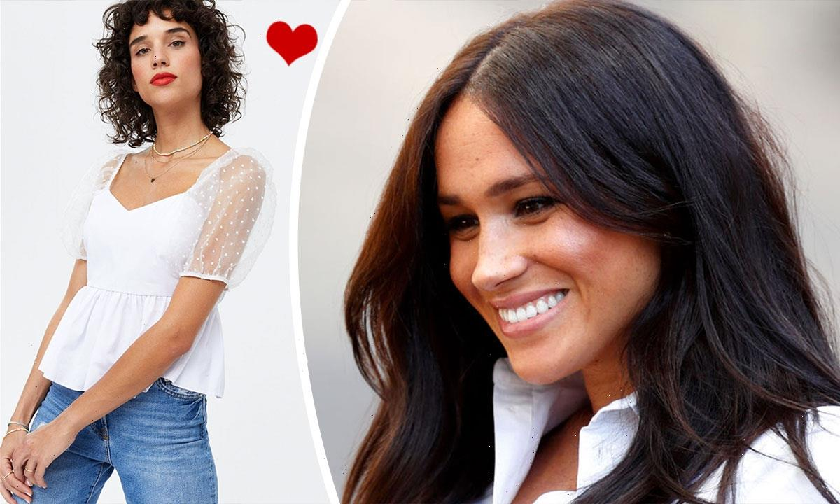 Remember Meghan Markle's stunning Topshop blouse? We've found a £22.99 version