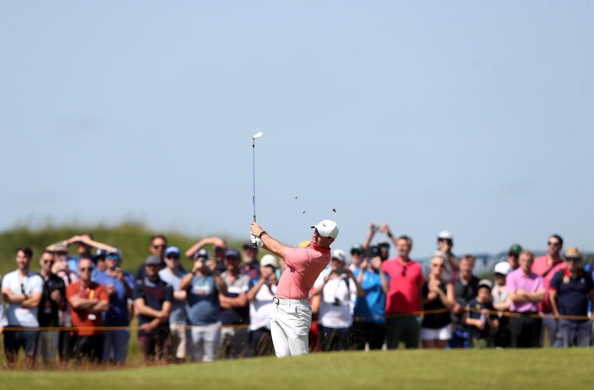 Rory McIlroy frustrated after squandering ideal start to third round of The Open