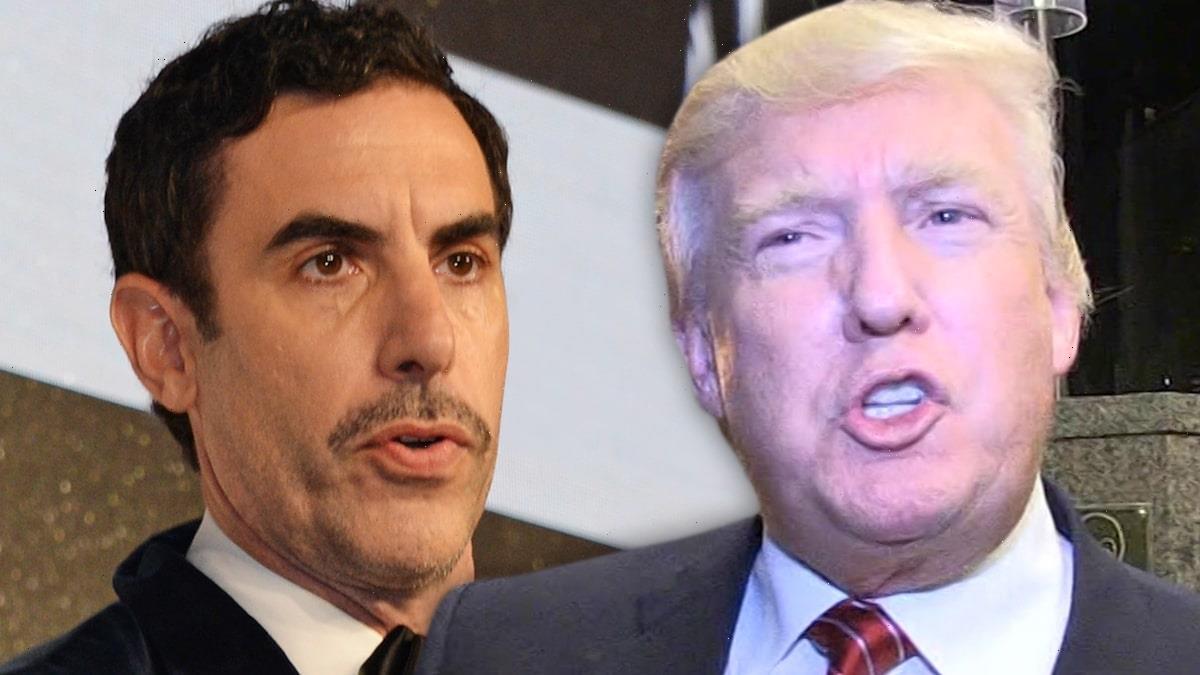 Sacha Baron Cohen Thanks Trump for Calling Him a 'Creep' for 'Borat' Stunt
