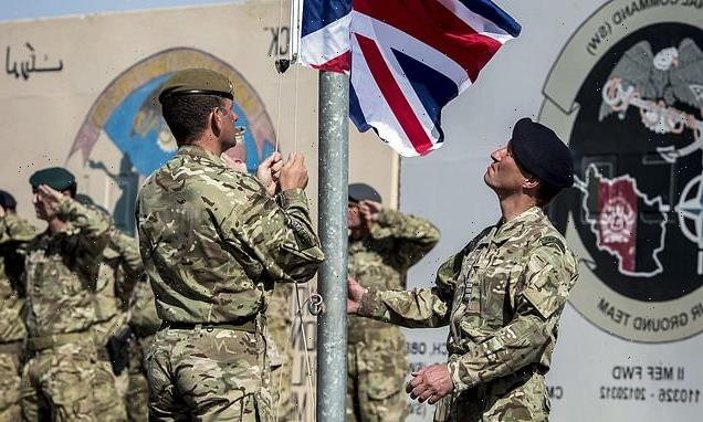'Small number' of SAS troops 'will STAY in Afghanistan to advise'