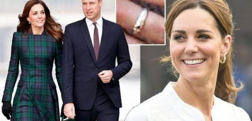 'Smitten even in early days': Kate Middleton given 'enormously romantic' ring from William