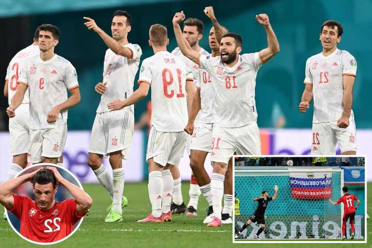 Spain sneak past Switzerland in Euro 2020 quarter-finals in dramatic penalty shootout with Unai Simon the hero