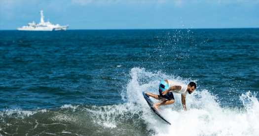 Surfing's Olympic Moment Is Here. Will the Waves Cooperate?