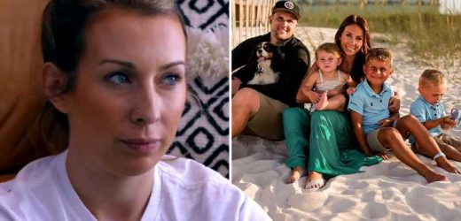 Teen Mom star Mackenzie Edwards tells trolls 'get the f**k out' after husband Ryan was slammed for 'never holding kids'