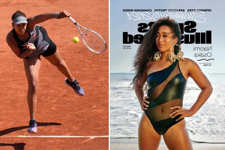 Tennis stunner Naomi Osaka cover star of 2021 Sports Illustrated Swimsuit issue as she appears in one-piece
