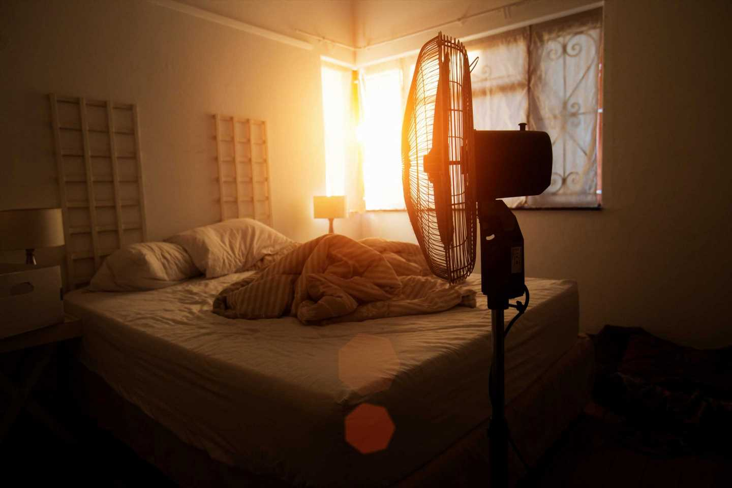 The two second fan trick which could could help you sleep way better