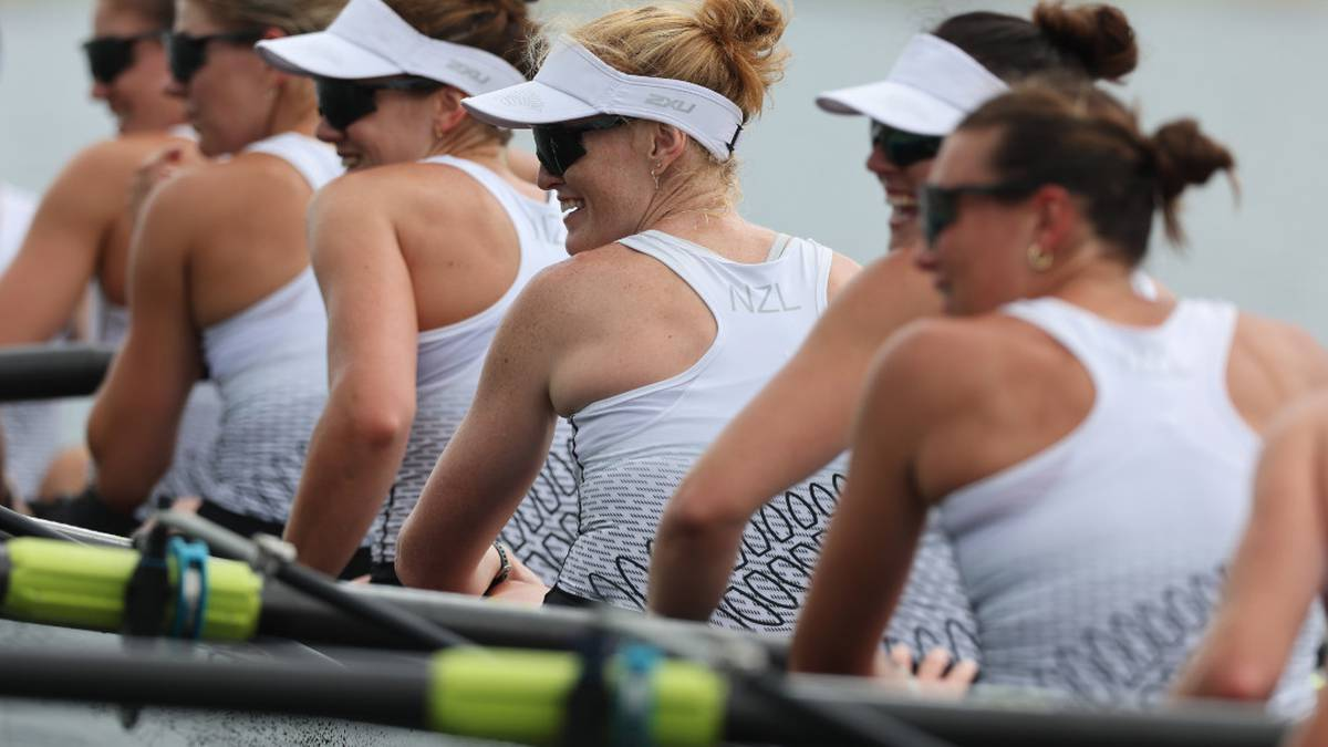 Tokyo Olympics 2020: Women's eight rowing team claim silver medal for New Zealand