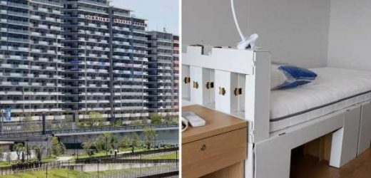 Tokyo Olympics using 'cardboard beds' that break if athletes have sex to stop Covid spreading in Olympic Village